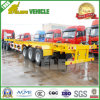 3 Axle Fuwa Suspension Skeleton Container Frame Trailer