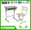 Popular Colorful Single Adjustable School Student Desk and Chair