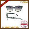 Fk5168 Fhionable Wholesale China Retro Sunglasses with Zebra Pattern