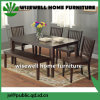 6-Piece Wood Dining Room Furniture with Bench
