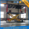 Mobile Hydraulic Scissor Car Lift for Two Cars