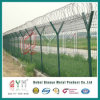 Welded Wire Mesh Security Airport Barbed Wire Mesh Fence