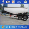 2 Axles Bulk Powder Cement Silo Tank Semi Trailer
