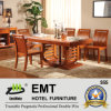 Strong Struction Wooden Dining Table with Chair Set (6035# dining set)