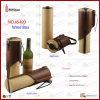Classic Single Bottle Faux Leather Wine Holder (5490)