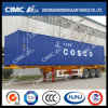 45FT Skeleton Container Trailer with Cosco Container