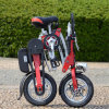 Folding Electric Bicycle with Brushless Motor
