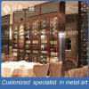 Modern Pactical Stainless Steel Rose Gold Wine Cellar Hotel Furniture