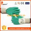 Ddsafety 2017 Cotton Green Latex Coated of Cotton Glove