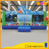 Underwater World Theme Inflatable Jumping Bouncer House with Inflatable Toys for Sale (AQ13206)