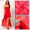100% Polyester Elegant Dress Chiffon Fabric
