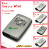 Smart Key with 4buttons 312MHz 0500 Silver for Toyota