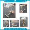 ABS Material Adjustable Hospital Over Bed Table (AG-OBT003)