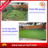 "40mm PE 3/8"" Anti UV Plastic Artificial Garden Grass"