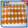 Die Cutting 0.155 mm Thick Round Shape Golden Kapton Tape