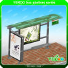 Newest Design Bus Shelter - Outdoor Advertising Bus Shelter