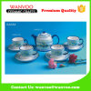 4PCS Ceramic Tea Coffee Set of Cup and Saucer