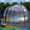 Bent Glass swimming Pool with Curved Shape