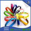 Colorful Debossed Ink 3/4 Inch Fashion Jewelry Silicone Wristband