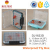 Transparent Two-Sided Plastic Fly Fishing Box