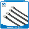 Plastic PVC Coated Ss Stainless Steel Cable Ties 316 Stainless Steel Cable