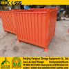 Foldable Stackable Steel Corrugated Plate Pallet Bulk Cage Container