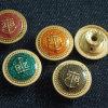 Colorful Remove Rivet Plating Jeans Metal Button