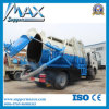 2016 Hot Sale 3000L Sewage Pump Truck Suction Tank Truck