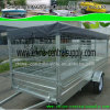 Light Duty Steel Box Trailer with Cage CT0080s