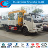 Dongfeng 4X2 Truck Mounted Crane Truck with Crane