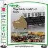 Supermarket Dispay Shelf for Fruits and Vegetables
