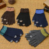 Man′s Winter Warm Knitted Gloves Full Finger Wholesale