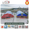 30m Width Polygon Outdoor Sports Tent with Aluminum Frame / PVC Fabric