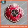Alibaba China Pinstar Factory High Quality Cheap Custom Metal Flower Lapel Pin