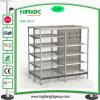 Light Duty Single Side Metallic Supermarket Shelf