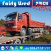 Loading Used 8X4 Sinotruck HOWO Dump Tipper Truck to Congo