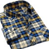Wholesale Men Long Sleeve Blouse Shirt Cotton Dress Shirts