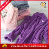 Unisex Long Sleeve Thick Warm Velour Bathrobe