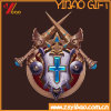 Bespoke Game Badge of Metal Electroplating and Paint Zinc Allo Metarial (YB-HR-23)