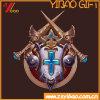Bespoke Game Badge of Metal Electroplating and Paint Zinc Allo Metarial (YB-HR-23)