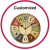 Decorative Wooden Antique Wall Clock