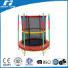 Colorful 55 Inch Mini Kids Trampoline with Enclosure Foe Sale