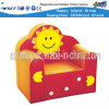 Children Furniture Sun Smile Leather Couch (HF-09802)