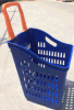 Shopping Baskets with Two Wheels