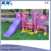 Plastic Kids Indoor Playground Swing and Slide with Basket Set