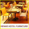 Restaurant Furniture 5 Stars Hotel Dining Room Coffee Shop Tables Set and Chairs