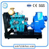 Self Priming Horizontal Diesel Engine Water Pump for Waterworks
