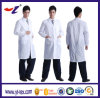 Cotton Unisex Worker Uniform Lab Coat with Custom Logo
