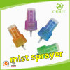 24mm Colorful Plastic Mist Sprayer Pump 0.12ml Dosage for Perfume