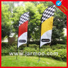 Promotional Advertising Printing Teardrop Flag with Pole